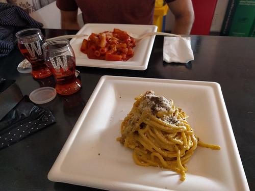 our pasta @ Pasta Chef
