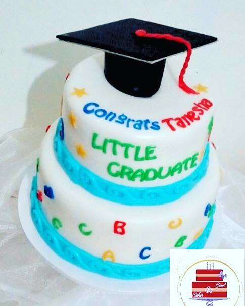 Sweet Graduation Cake from Cakesbycarol