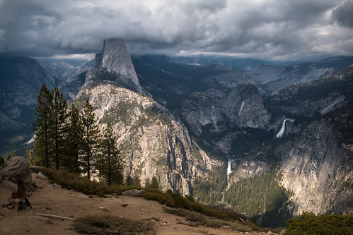 Storm Clouds Over Yosemite