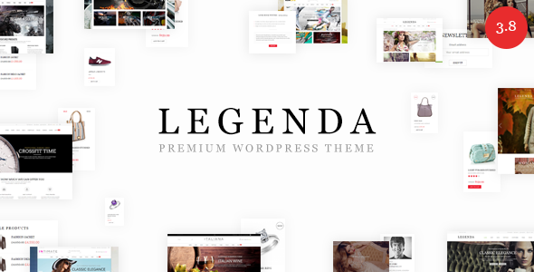 Legenda v4.1 - Responsive Multi-Purpose WordPress Theme
