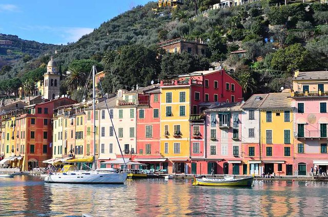 Yachting in the Italian Riviera