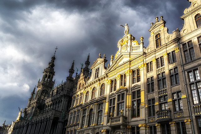 The grand place brussels, Sony ILCE-6000, Sony E 20mm F2.8