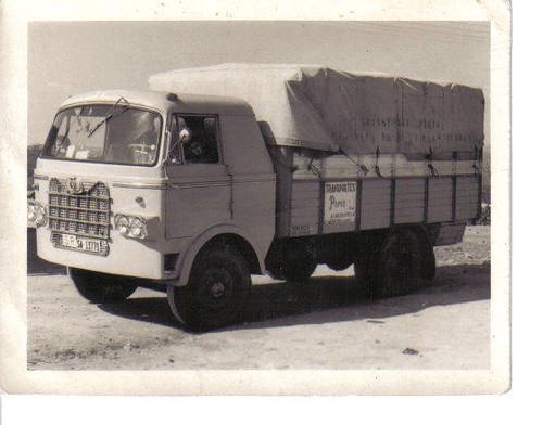 camió Nazar A Transports Piriz de Salamanca