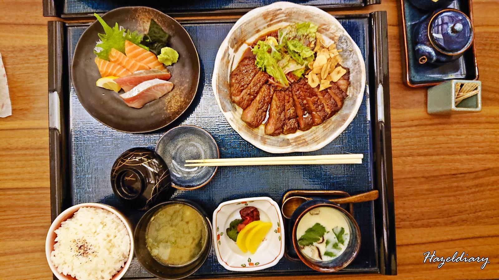 Mitsu Spring Menu-Wagyu Beef Steak Set