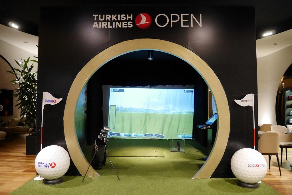 土航CIP Lounge高尔夫球体验区