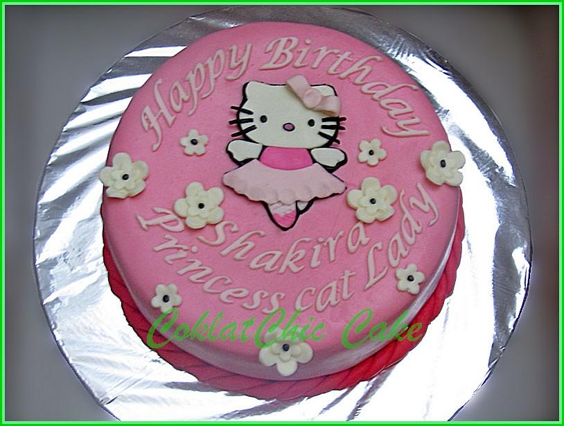 Cake Hello Kitty SHAKIRA 15 cm