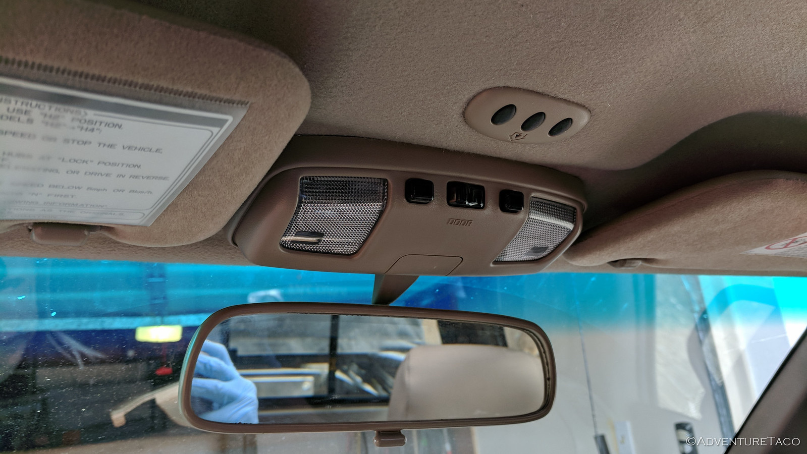 Open Sesame - Adding a Garage Door Opener to the Headliner