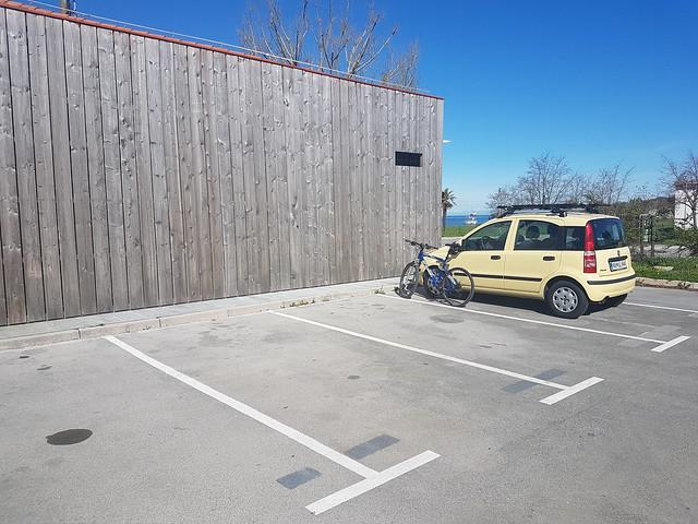 Parkirišče - Lazaret