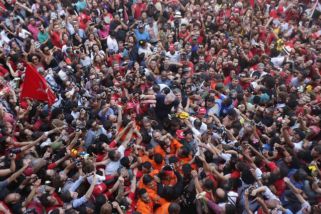 Read Lula's historical speech in São Bernardo do Campo Abril 7th