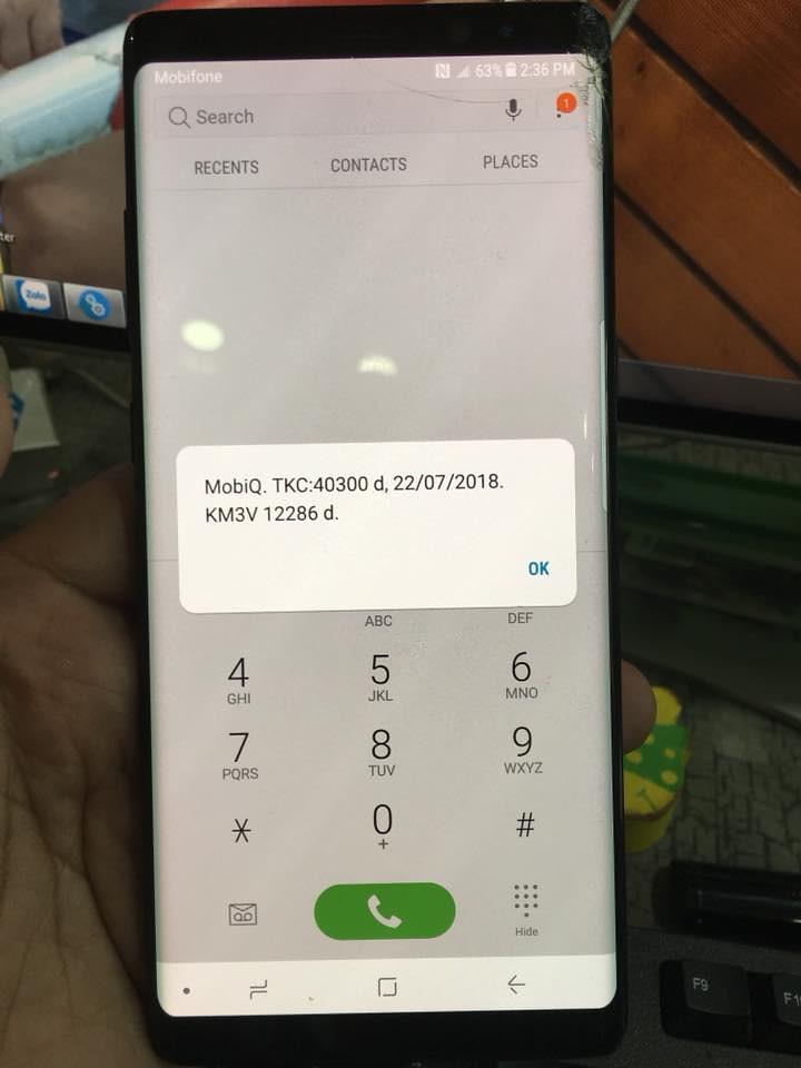 Điện thoại/Tablet - Unlock Samsung Note 8 T-Mobile N950U lấy