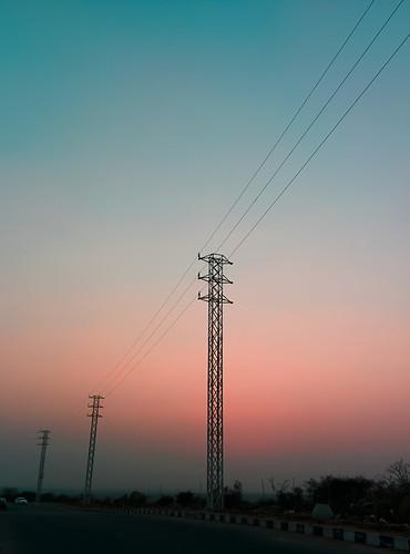 #sunset #nature #canon #nexus5 #hyd #india