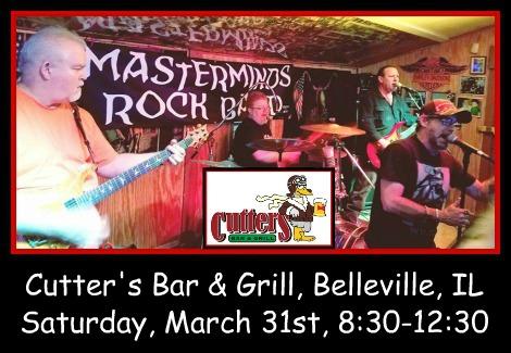 Masterminds Rock Band 3-31-18