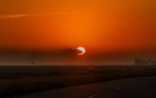 Alice, Texas sunrise