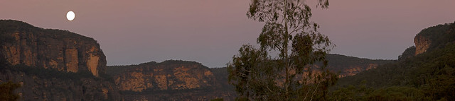 Full Moon Over Capertee Valley