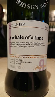 SMWS 39.159 - A whale of a time