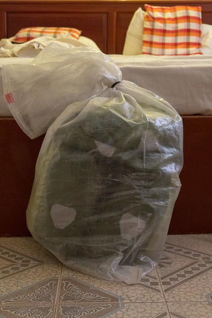 Gepäck verpackt