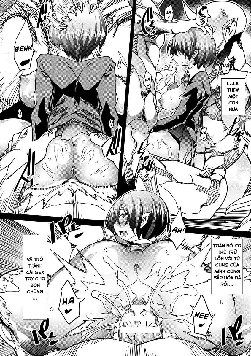 HentaiVN.net - Ảnh 14 - Sekkan no Kyoutei - A Lesson in Eternal Petrification, Bài học hóa đá (Oneshot nằm trong Bessatsu Comic Unreal Sekka END ~Zetsubou no Naka de Sekizou e to Kaerareru Shoujo-tachi~ Vol. 1) - Oneshot