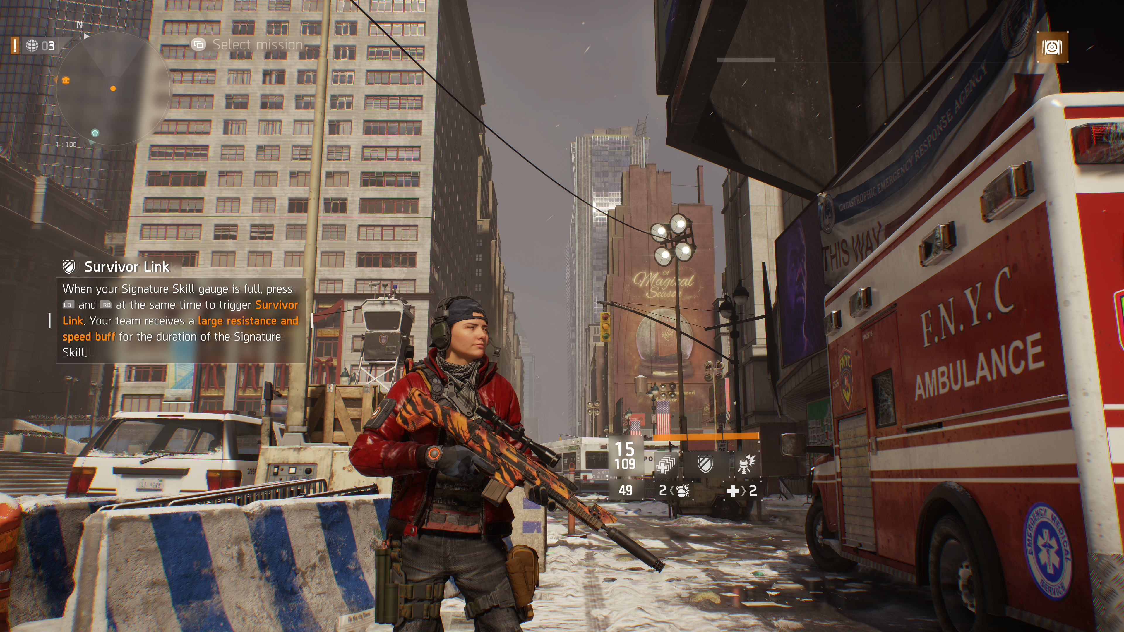 The Division, Native 4K on Xbox One X | NeoGAF
