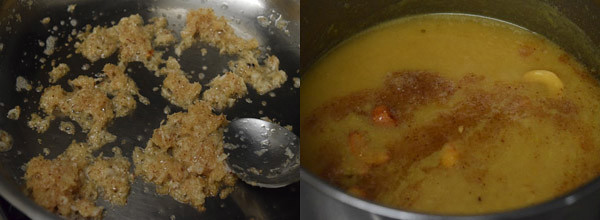 Paasi Paruppu | Moong Dal Payasam cooking steps by GoSpicy.net