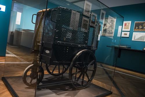 1923 Money Trasport Cart