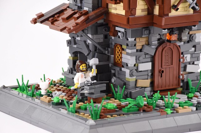 Get Your Minifig Arms And Armor At This Medieval Weapons House The Brothers Brick