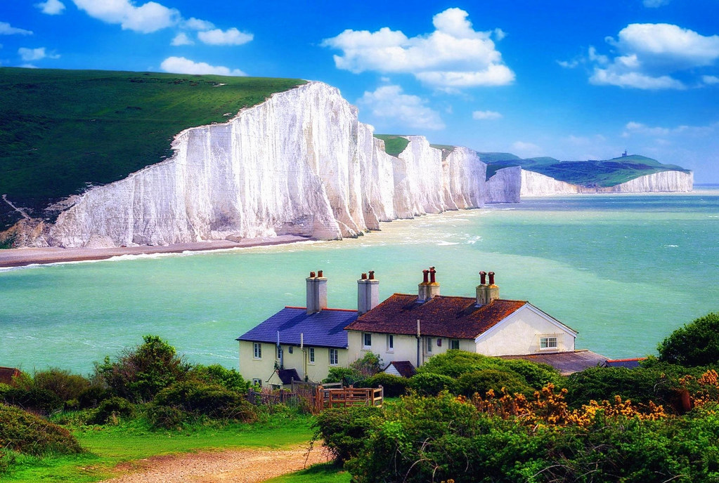 Seven Sisters, East Sussex. Credit Miquitos, flickr