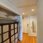 Dressing area view to door wide