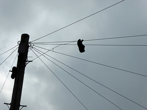Shoe on a Wire