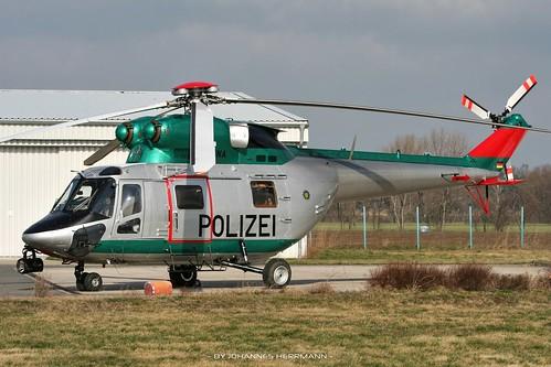 Polizei Sachsen W-3 D-HSNA @ Riesa
