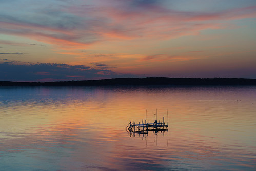 traversecity puremichigan grandtraversebay water reflection sunset sky peaceful sony a7riii fe24105f4 24105 serene tranquil