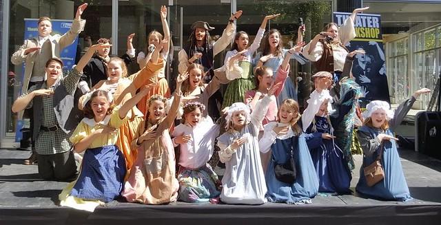 Theaterschool Luna groepsfoto