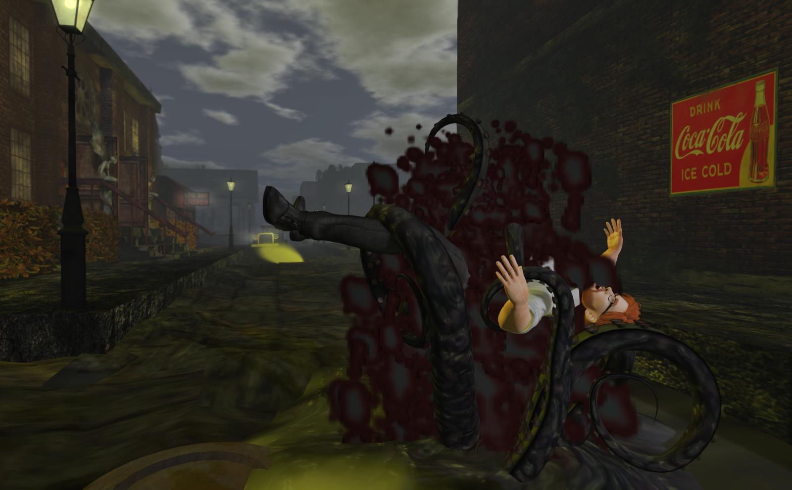 Ricco and the octopus hug