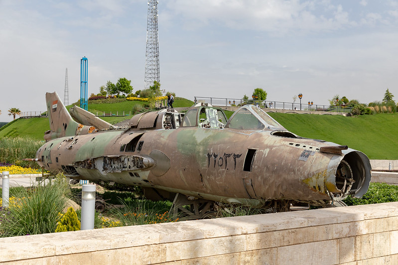 Iran-Iraq war monument