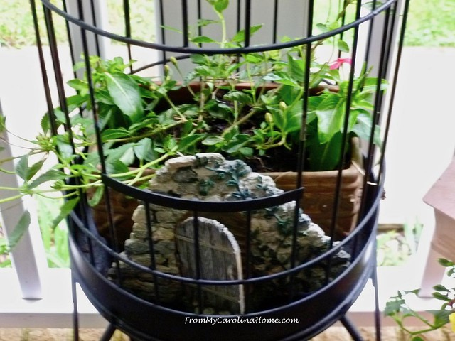 Birdcage Makeover at From My Carolina Home