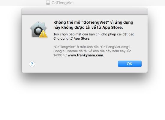 Hướng dẫn mở những ứng dụng bị chặn trên Macbook - Cách mở ứng dụng bên thứ ba trên Macbook