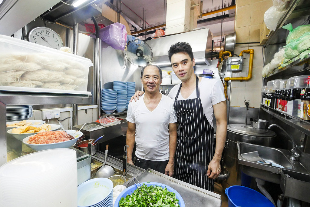 amoy street Ah Ter Teochew Fishball Noodles hawkers