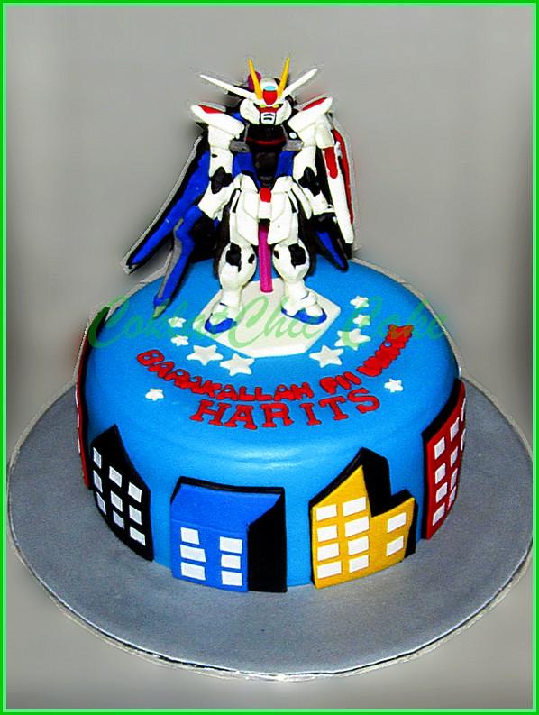 Cake Gundam HARITS 15 cm