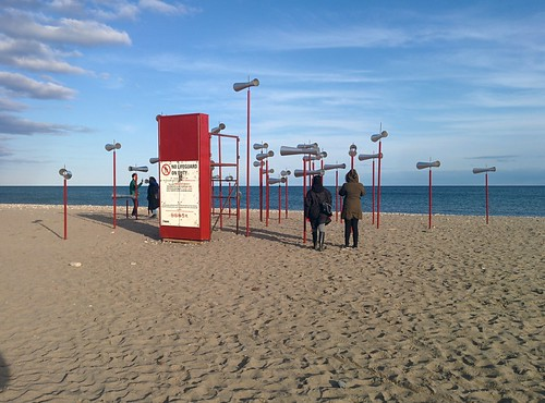 Revolution (1) #toronto #winterstations #beaches #woodbinebeach #revolutiom #publicart #latergram