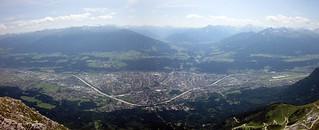 Vista de Innsbruck, Austria