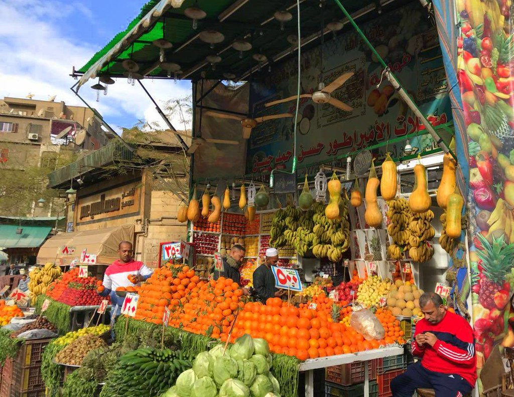 Colours pop at markets for perfect Cairo street photography