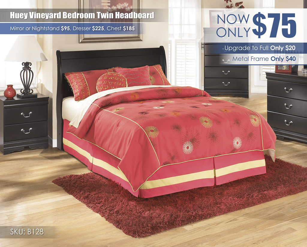 Huey Vineyard Headboard Special_B128