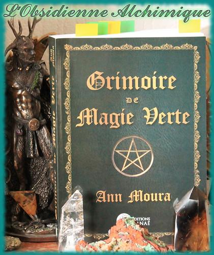 Grimoire de Magie verte des Editions Danae (Editions Alliance Magique) retour de lecture