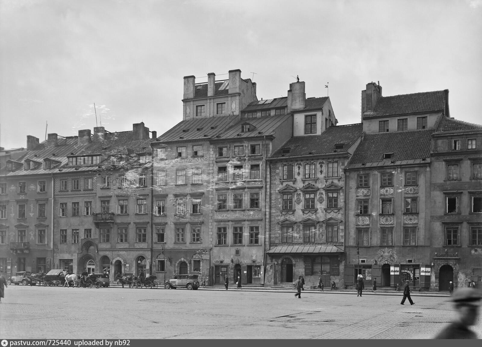 1933 год. Варшава. Старый город. Рыночная площадь.