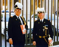Knights Templar Members Before Mayfest Parade, 1996