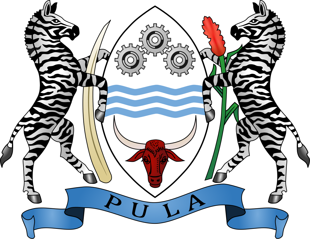 Coat of Arms of Botswana