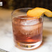 My old fashioned (we all had the opportunity to mix our own)