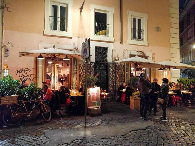 our last dinner in Rome @ Cajo & Gajo