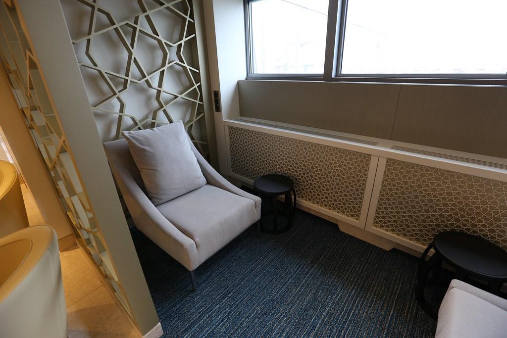 Qatar lounge at Paris CDG 42
