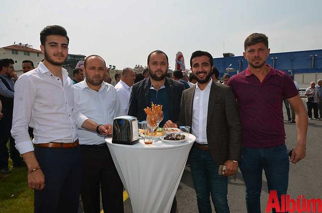Mustafa Çetin, İbrahim Elçi, Can Barcın, İlyas Elçi