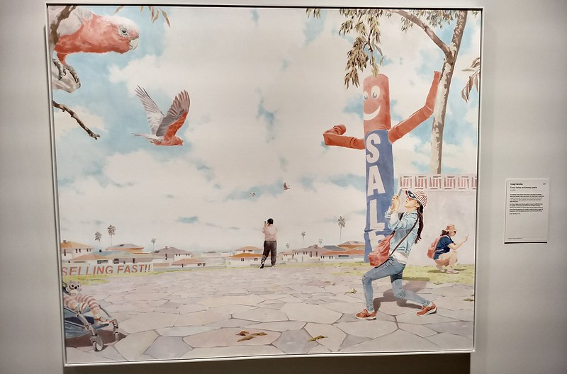 Funny Hahas and Bloody Galahs - by Craig Handley - at Art Gallery of NSW